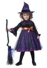 Страшные - Фиолетовый костюм маленькой ведьмочки