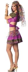 Цыганские костюмы - Фиолетовый костюм мистической цыганки