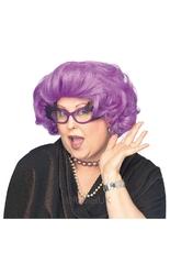 Профессии и униформа - Фиолетовый парик дамочки