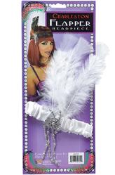 Женские костюмы - Флаппер белый