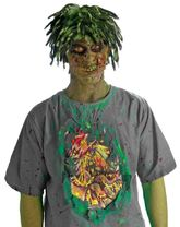 Зомби и Призраки - Футболка грязного зомби