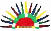 Ковбои и Индейцы - Головной убор индейца
