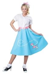 Стиляги - Голубая юбка с пуделем