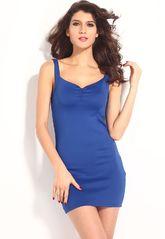 Клубные платья - Голубое платье