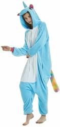 Единороги - голубой Единорог с радужным хвостом