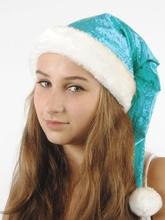 Костюмы на Новый год - Голубой рождественский колпак