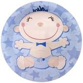 День смеха - Голубые тарелки С днем рождения Малыш