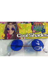 Хиппи - Хипповые очки синие