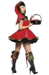 Ресницы и линзы - Игривая красная шапочка