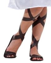 Греческие костюмы - Имитация греческих сандалий