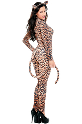 Леопарды и тигры - Костюм Избалованная леопардша