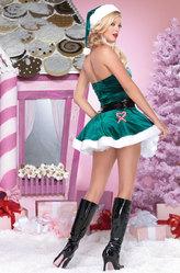 День рождения Деда Мороза - Костюм Изумрудная Санта