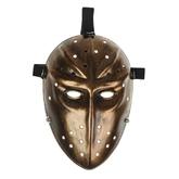 Исторические - Карнавальная маска Воин золотая