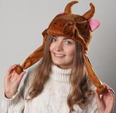 Коровы - Карнавальная шапка Бычок