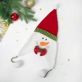 Снеговики - Карнавальная шапка Снеговик