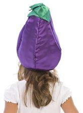 Фрукты и ягоды - Карнавальная шапочка Баклажан