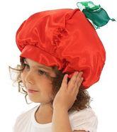 Фрукты и ягоды - Карнавальная шапочка Помидор
