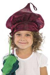 Фрукты и ягоды - Карнавальная шапочка Свекла