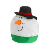 Снеговики - Карнавальная шляпа Снеговик в шляпке