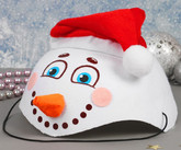 Снеговики - Карнавальная шляпа Снеговик