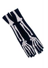 Карнавальные перчатки Скелет