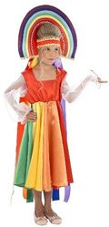Времена года - Карнавальный костюм радуга