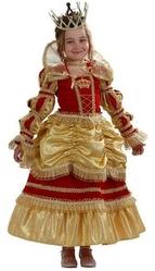 Костюмы для девочек - Карнавальный костюм золотистой королевы