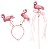 Аксессуары - Карнавальный набор Фламинго
