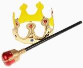 Цари - Карнавальный набор Царский 2 предмета
