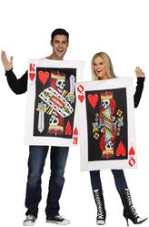 Карты - Костюм Карточный король и королева
