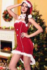 День рождения Деда Мороза - Костюм Кокетливая снегурка