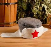Военные и спецназ - Колпак для бани Ушанка