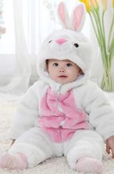 Зайчики и Кролики - Комбинезон белого кролика