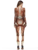 Скелеты - Комбинезон Человек без кожи