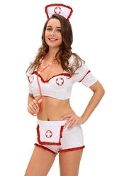 Медсестры - Комплект медсестры с шортиками