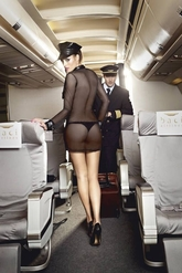 Стюардессы и Капитаны - Комплект милой стюардессы