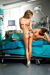 Медсестры - Комплект нескромной медсестры