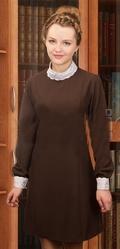 Школьницы и студентки - Коричневое платье Школьницы