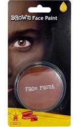 Аксессуары - Коричневый грим-краска для лица