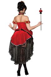 Красная королева - Костюм Королева черви делюкс