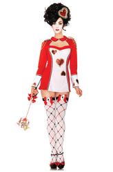 Красная королева - Костюм Королева карт