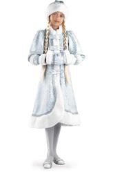 Дед Мороз и Снегурочка - Костюм Королевская Снегурочка