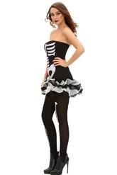 Мертвецы - Короткое платье Скелета