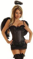 Ангелы и Феи - Корсетный костюм черного ангела