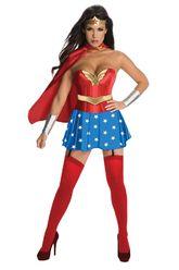 Супергерои - Корсетный костюм Чудо-женщины