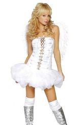 Женские костюмы - Костюм ангелочка кокетки