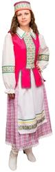 Женские костюмы - Костюм Белорусской девушки