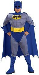 Супергерои - Костюм Бэтмена для детей Deluxe