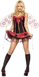 Женские костюмы - Костюм божьей коровки конфетки
