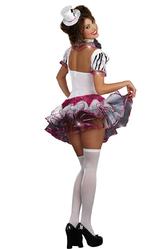 Женские костюмы - Костюм Черно-белой циркачки